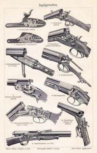 jagen, Jagd, Jagdgewehre, Waffen