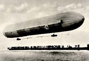 Zeppelin, Flug, Luftschiff