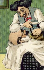 Barbier, Rasur, rasieren