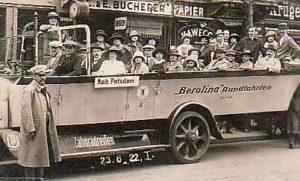 Berolina, Rundfahrten, Busfahrer, Tourismus, Berlin