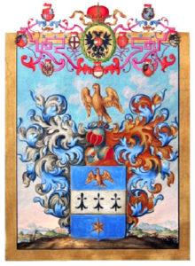 Juwelenhändler, Adelsbrief, Urkunde, Wappen
