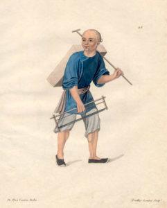 China, Zimmermann, Handwerker, Chinese