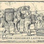 Lastträger, Tabakanbau, Tabakernte, Lasttiere