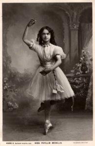 Ballerina, Frau, Pose