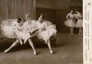 Balletttänzer, junge Frauen