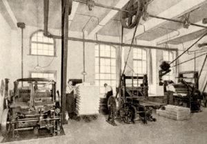 Großbuchbinderei, Buchbinderei