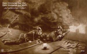 Feuerwehr Bilderserie: Auf gefährlichem Posten