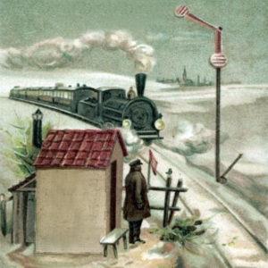 Bahnwärter, Zug