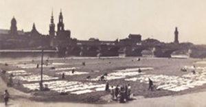 Rasenbleiche, bleichen, Dresden