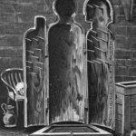 Folterinstrument: Eiserne Jungfrau geöffnet