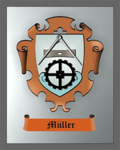 Zunftzeichen, Zunftwappen, Müller
