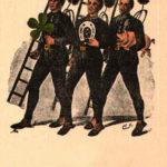 Schornsteinfeger, Neujahr, Glückssymbole,Glücksbringer