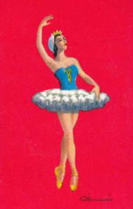 Balletttänzerin im Tutu