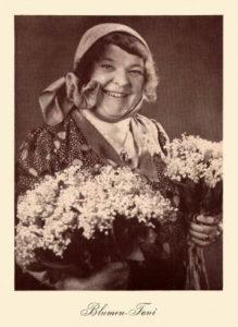 Blumenhändlerin