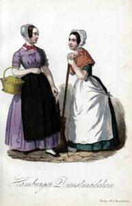Dienstmädchen, Dienstboten