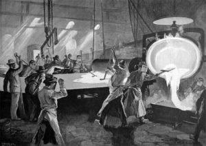 Spiegelgießerei, 1896, Spiegel, Spiegelmacher