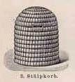 Imkerei, Stülpkorb, Bienenkorb
