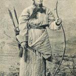Jäger, Burjate, Pfeil und Bogen