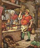 Koch, Küche, Essen
