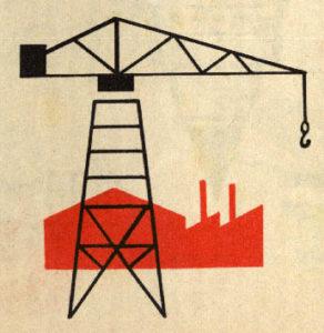 China, Kran, Illustration