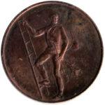 Medaille, Rauchfangkehrer, Schornsteinfeger
