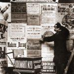 Plakatierer, Plakattafel