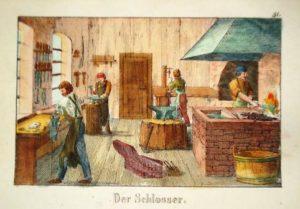 Schlosserei, Arbeit, Schlosser, Werkstatt