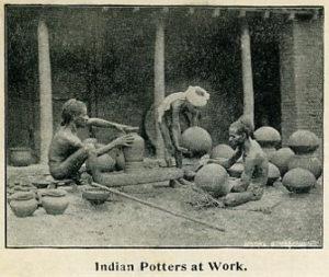 Töpfer, Indien