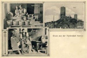 Töpfer, Töpferei, Töpferstadt Kohren