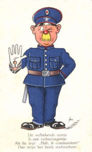 Niederlande, Verkehrspolizist, Humor