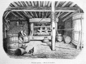 Weinpresse, Winzer