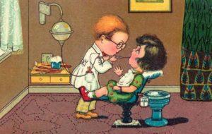 Zahnarzt, Behandlung, Humor