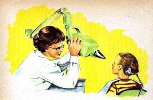 Zahnarzt, Röntgenapparat