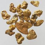 Gold, Rohgold, Goldnuggets, Edelmetall