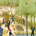 Vogelfänger, Jäger, Fischer, Mittelalter