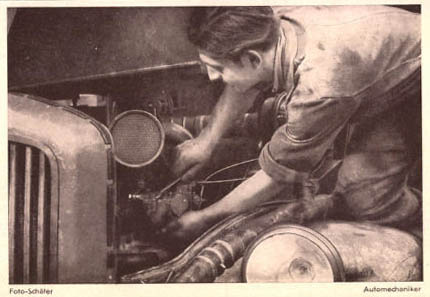 Automechaniker, Autoreparatur