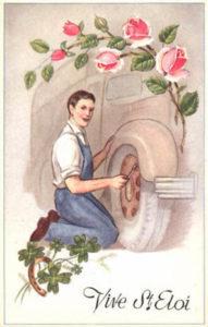 Automechaniker, Reifenwechsel, Autoreparatur