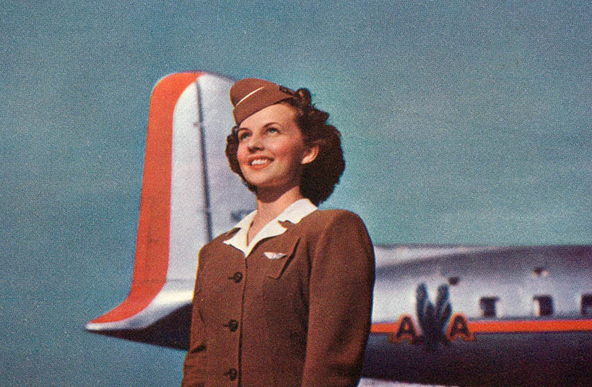 Steward und Stewardess