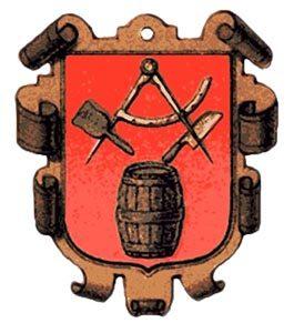 Böttcher, Küfer, Fassbinder, Zunftwappen, Handwerk