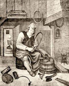 Böttcher, Küfer, Fassbinder, altes Handwerk