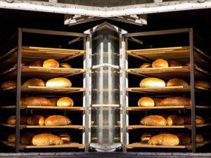 Brote, Backstube, Bäcker, Bäckerei, Brotbacken