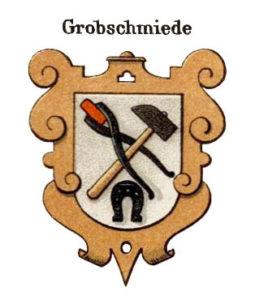 Hufschmiede, Grobschmiede, Handwekswappen