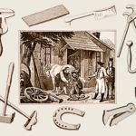 Hufschmiede, Werkzeuge, Handwerk