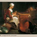 Küchenmagd, Küchenmädchen, Dienstmädchen