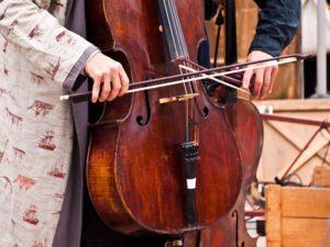 Kontrabass, Saitenmacher, Saitenbauer, Saiteninstrument, Musik
