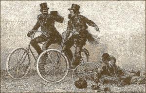 Schornsteinfeger, Fahrrad