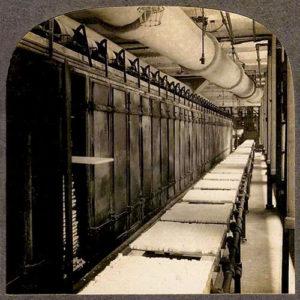 sw-Foto: Zuckerhut-Trockenanlage in einer Raffinerie