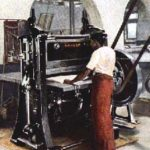 Buchbinder, Buchbinderei, Buchpresse, Sri Lanka, Ceylon