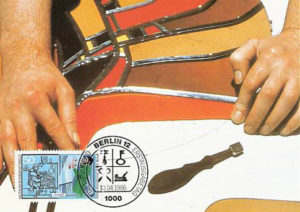 Briefmarke, Glaser, Handwerk