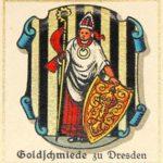 Goldschmiede, Wappen, Sammelbild